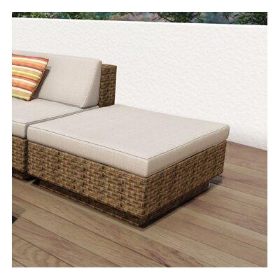 dCOR design Park Terrace Ottoman with Cushion
