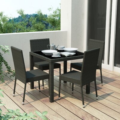 dCOR design Park Terrace 5 Piece Seating Group