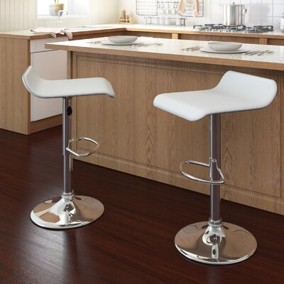 dCOR design CorLiving Curved Adjustable Barstool (Set of 2)