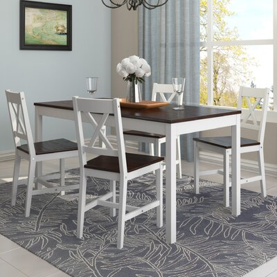 dCOR design 5 Piece Dining Set