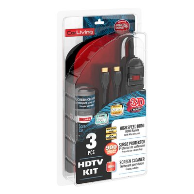 HDTV 3 Piece HDMI Kit