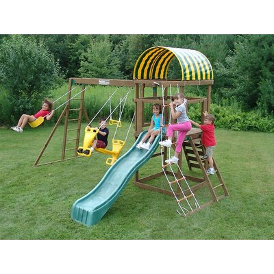 Playtime Swing Sets Avenger Swing Set