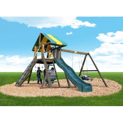 Playtime Swing Sets Single Axis Tire Swing