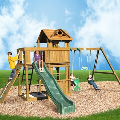 Playtime Swing Sets Cambridge Swing Set