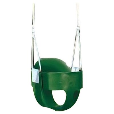 Playtime Swing Sets Bucket Toddler Swing Seat with Rope