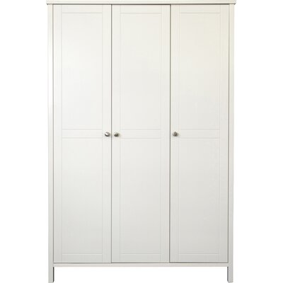 Home Essence Talmo 3 Door Wardrobe in White