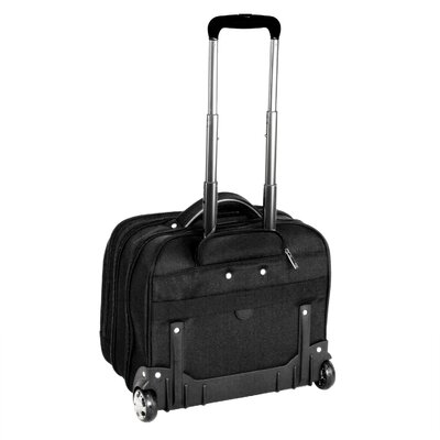 "CalPak CEO 17"" Rolling Briefcase with 16"" Deluxe Laptop Briefcase"