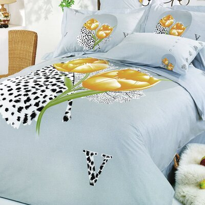 Le Vele Hayat 6 Piece Full / Queen Duvet Cover Set