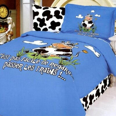Le Vele Pastoral 4 Piece Twin Duvet Cover Bedding Set
