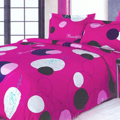 Le Vele Beautiful 4 Piece Full / Queen Duvet Cover Set