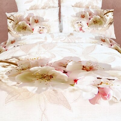 Dolce Mela Apple Blossom 6 Piece Duvet Cover Set
