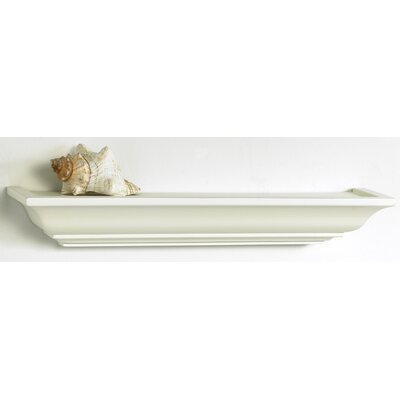 Brooke Field Mantle Ledge Shelf in White