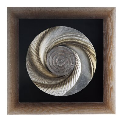 Crestview Collection Circle is Getting Small Laser Wood Framed Wall Decor - 35.5&quot; x 35.5&quot;
