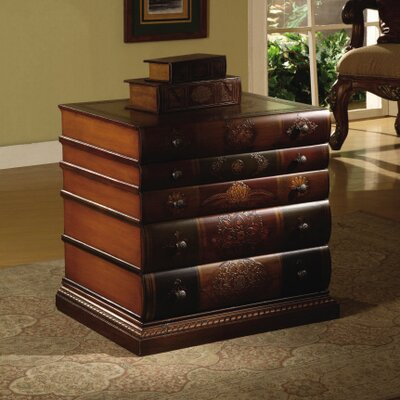 Crestview Collection Book Inspired Five Drawer Chest
