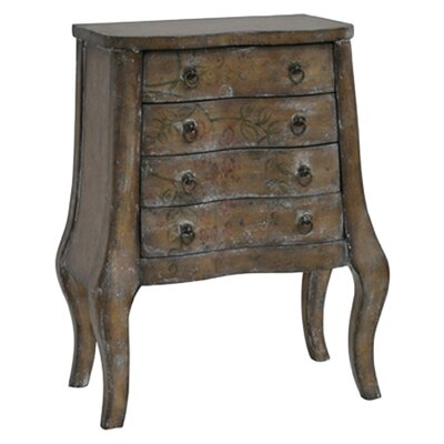 Crestview Collection Blanea 4 Drawer Chest