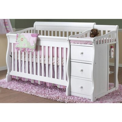 Sorelle Tuscany 4-in-1 Convertible Crib Set