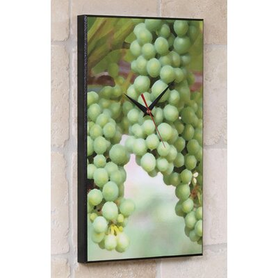 Wine Grapes Wall Clock