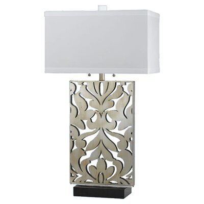 """AF Lighting Candice Olson Daydream 33"""" H Table Lamp with SquareShade"""