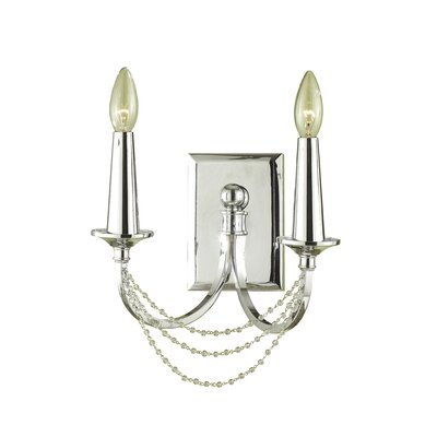 AF Lighting Candice Olson Shelby 2 Light Wall Sconce