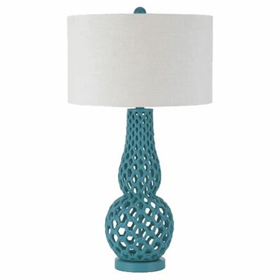 AF Lighting Horizons Chain Link 1 Light Table Lamp