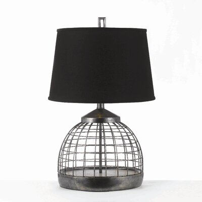 AF Lighting Horizons Grid 1 Light Table Lamp
