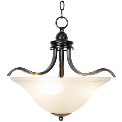 Sanibel 3 Light Inverted Pendant