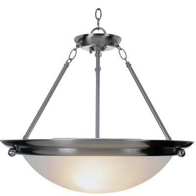 AF Lighting Lunar Bay Lighting 3 Light Inverted Pendant