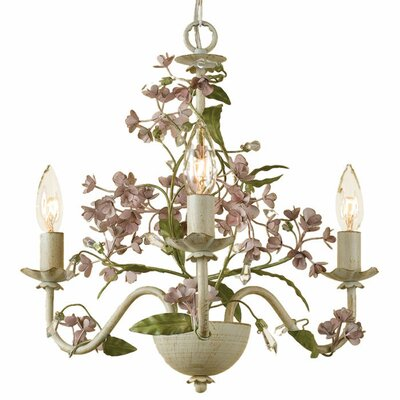Grace 3 Light Mini Chandelier