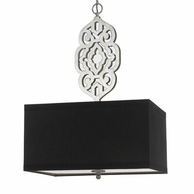 AF Lighting Candice Olson Grill 4 Light Drum Pendant