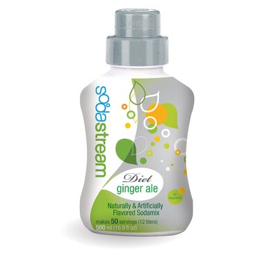 SodaStream Diet Ginger Ale SodaMix - 4 pack
