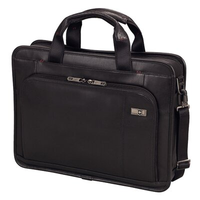 Victorinox Travel Gear Architecture® 3.0 Wainwright Slimline Leather Laptop Briefcase