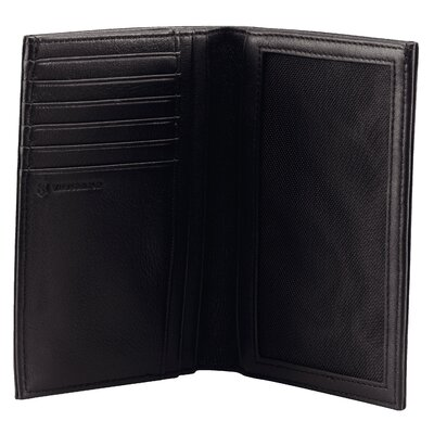 Victorinox Travel Gear Altius™ 3.0 Grenoble Leather Vertical Bi-Fold Wallet with European ID Window