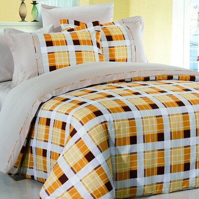 Arya Oliva 6 Piece Duvet Cover Set