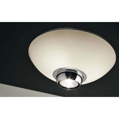 Murano Luce Al Flush Mount in Chrome