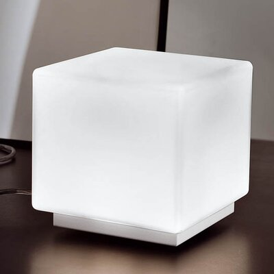 MuranoLuce Qb Table Lamp in White