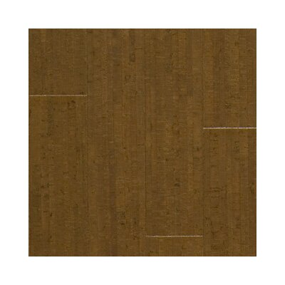 "US Floors Almada Marcas 4-1/8"" Engineered Locking Cork Flooring in Café"