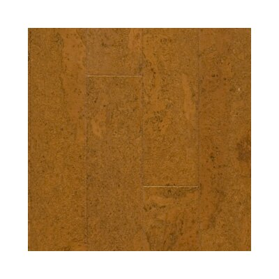 "US Floors Almada Nevoa 4-1/8"" Engineered Locking Cork Flooring in Cobre"