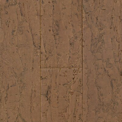 "US Floors Natural Cork New Earth Allegro 4-1/8"" Engineered Locking Cork Flooring in Barro"