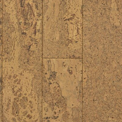 "US Floors Natural Cork New Earth Corona 4-1/8"" Engineered Locking Cork Flooring in Cera"