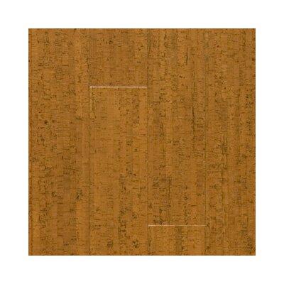 "US Floors Almada Marcas 4-1/8"" Engineered Locking Cork Flooring in Cobre"