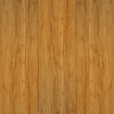 "US Floors Natural Bamboo Exotiques 5-5/8"" Engineered Strand Woven Bamboo Flooring in Natural"
