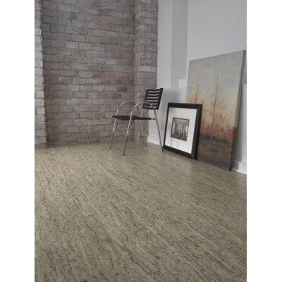 "US Floors Almada Tira 4-1/8"" Engineered Locking Cork Flooring in Areia"