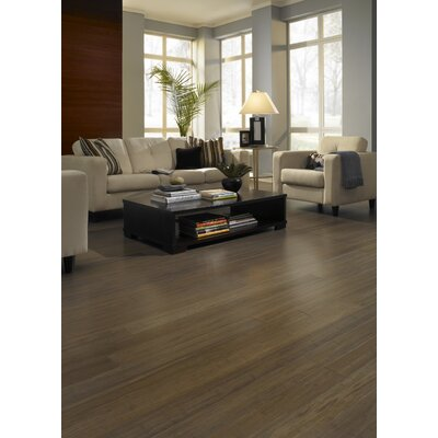 """US Floors Natural Bamboo Expressions 5-1/4"""" Solid Locking Strand Woven Bamboo Flooring in River Rock"""