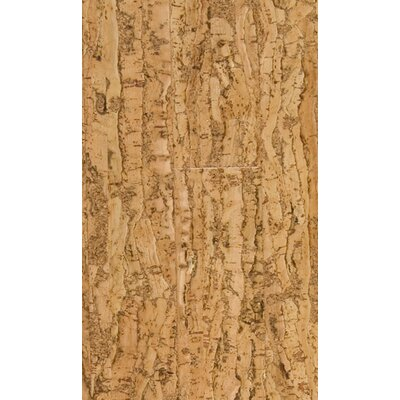 "US Floors Natural Cork New Earth Allegro 4-1/8"" Engineered Locking Cork Flooring in Natural"