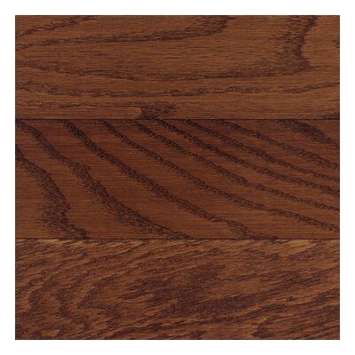 "Columbia Flooring Washington 3-1/4"" Solid Hardwood Oak Flooring in Burgundy"