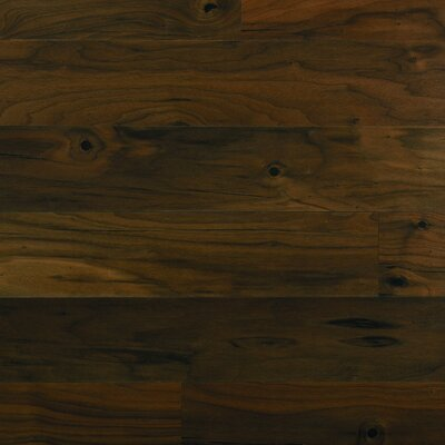 "Columbia Flooring Silverton 5"" Engineered Hardwood Walnut Flooring in Chocolate"