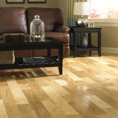 "Columbia Flooring Chase 5"" Engineered Hickory Flooring in Rustic"