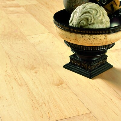 "Columbia Flooring Intuition with Uniclic 4"" Engineered Hardwood Maple Flooring in Natural"