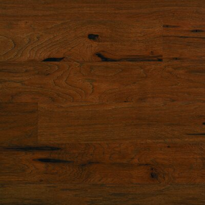 "Columbia Flooring Silverton 5"" Engineered Hardwood Hickory Flooring in Morning Tea"