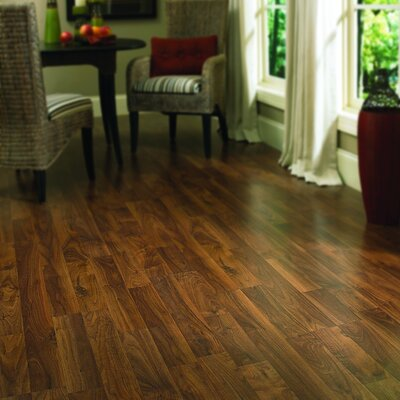 Columbia Flooring Columbia Clic 8mm Walnut Laminate in Heritage Walnut Smoke
